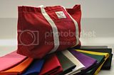 Ice Bag in Napthol Red - Machine washed